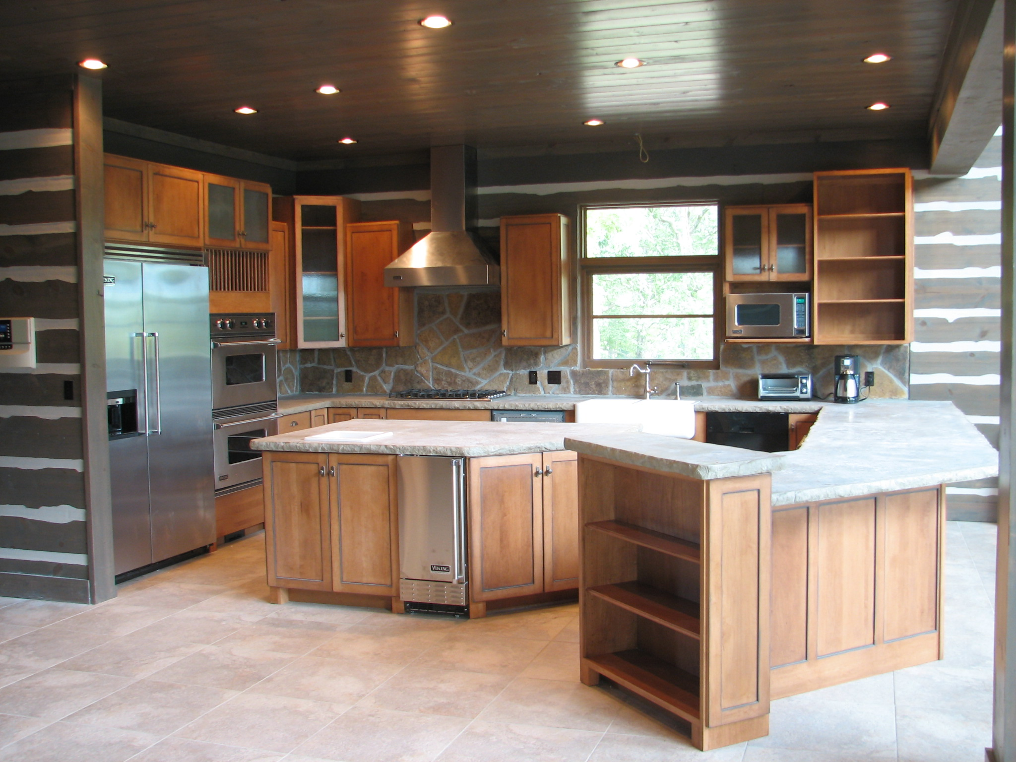 EWP - Custom Kitchen - Maple - Custom Stain